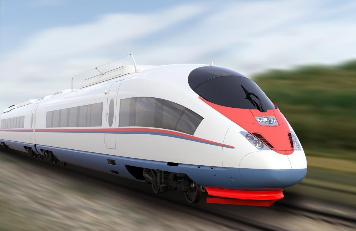 Siemens Mobility Velaro Sapsan high-speed train for Russian Railways