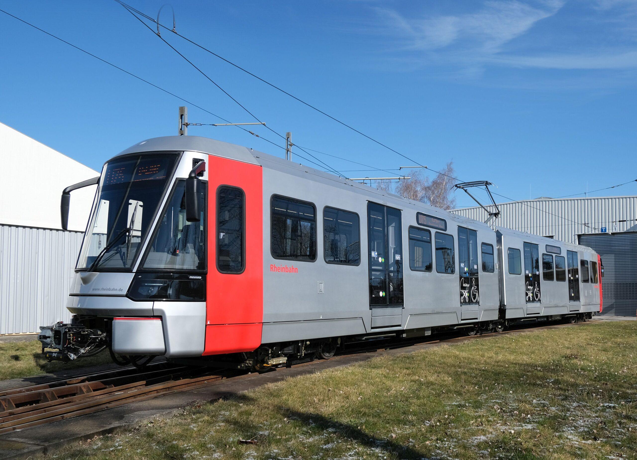 Bombardier Flexity tram for Dusseldorf