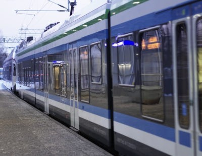 VR Subsidiary Wins Helsinki Commuter Train Maintenance Contract