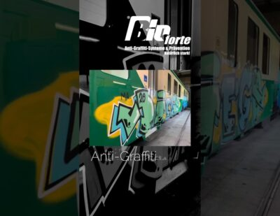 Removal of Graffiti from Rolling Stock