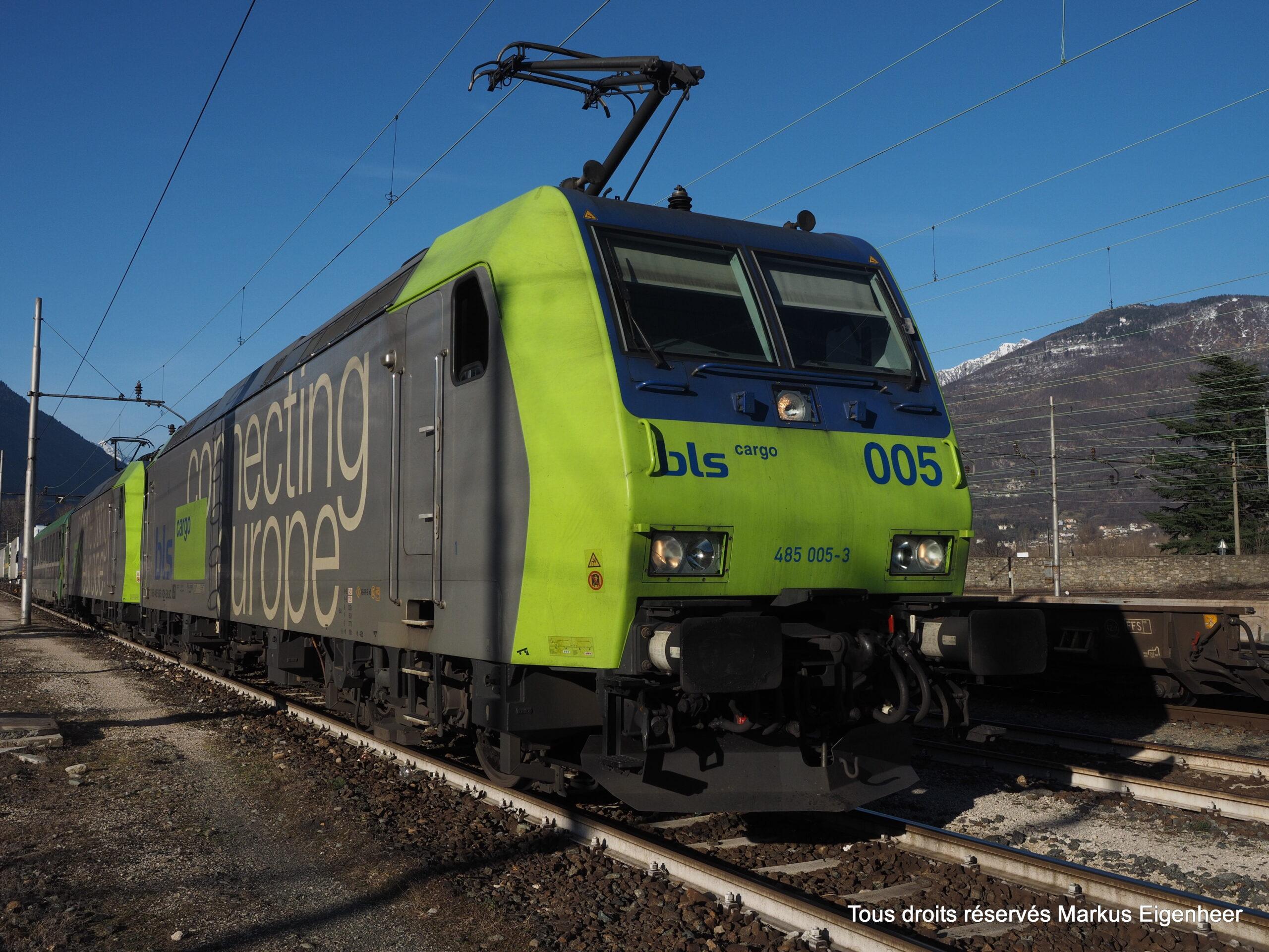 BLS Cargo locomotive