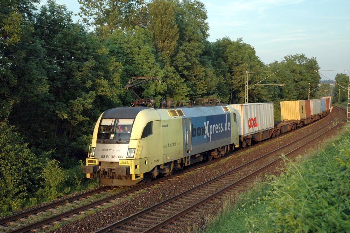 Dispolok freight train in Germany