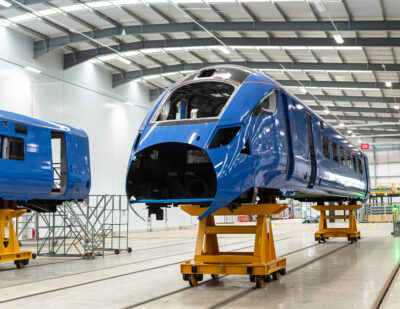 Hitachi Begins Manufacturing East Coast Trains Order