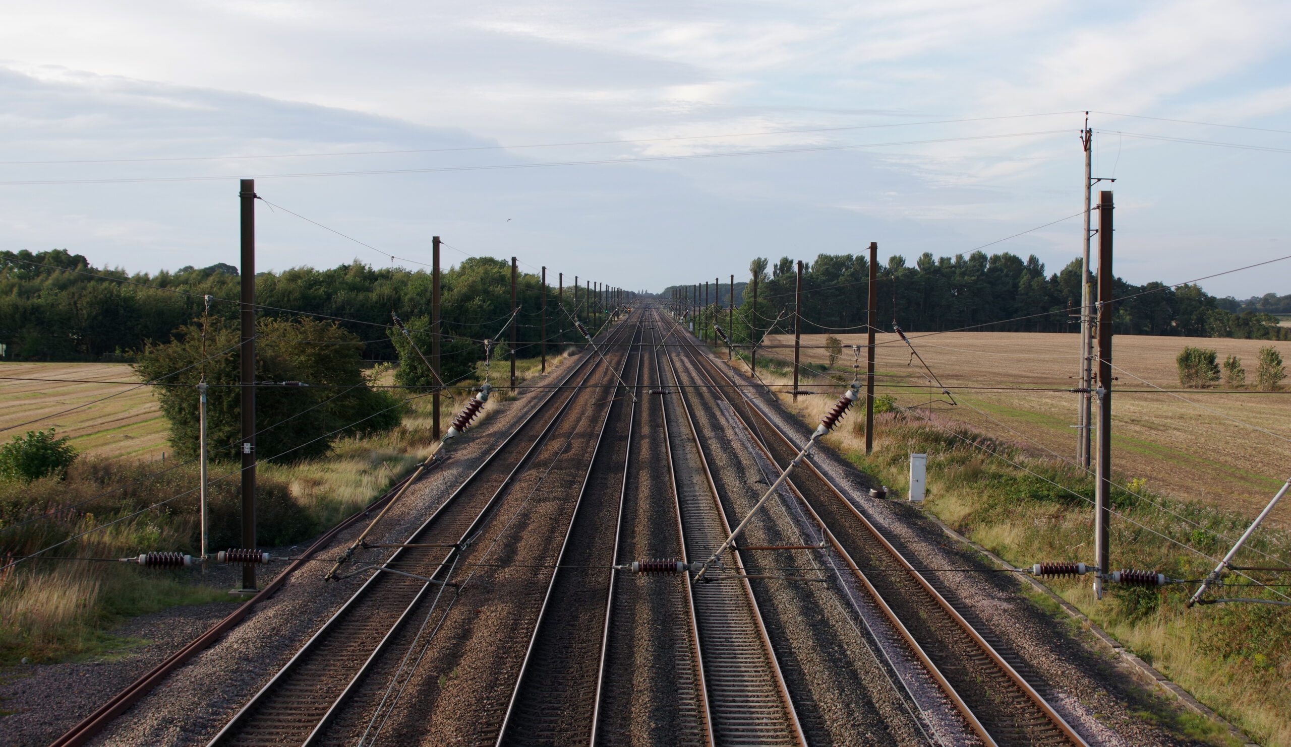 East Coast Main Line tracks