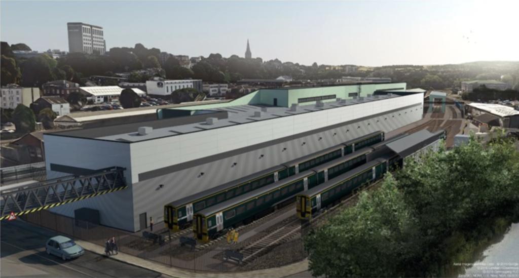 GWR Exeter Depot