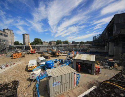 HS2 Euston Station Demolition Milestone Reached