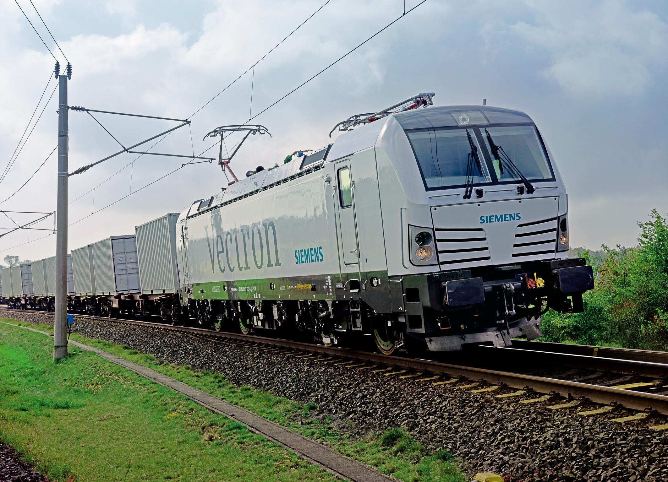 Siemens Mobility Vectron DSB