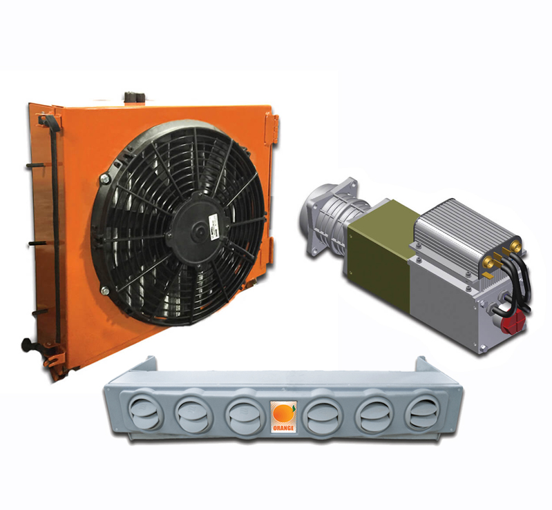 Air Conditioners for Locomotives