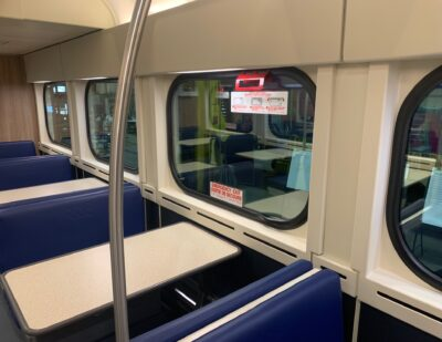 INPS Group Fiberglass Components for Mass Transit Vehicle Interiors