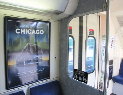 INPS Group Interior Graphics for Passenger Rail Cars
