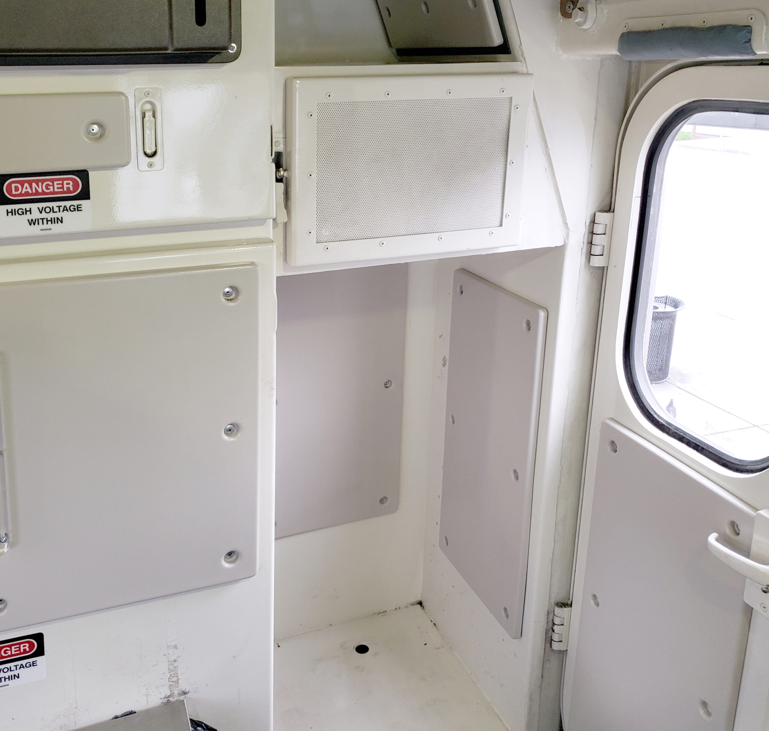 Sound Damping for Locomotive Cabs