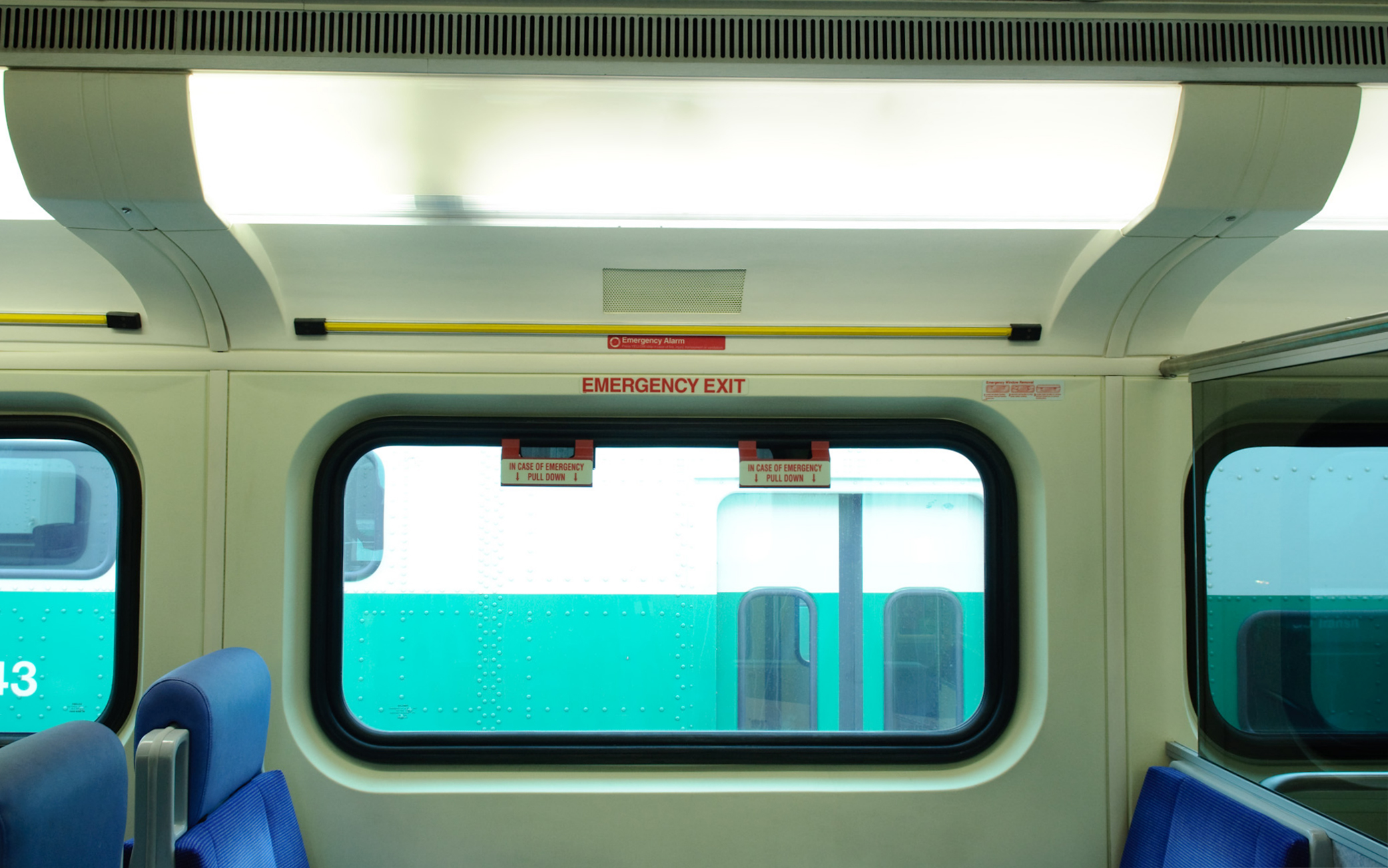 Window Freezes for Mass Transit Vehicle Interiors