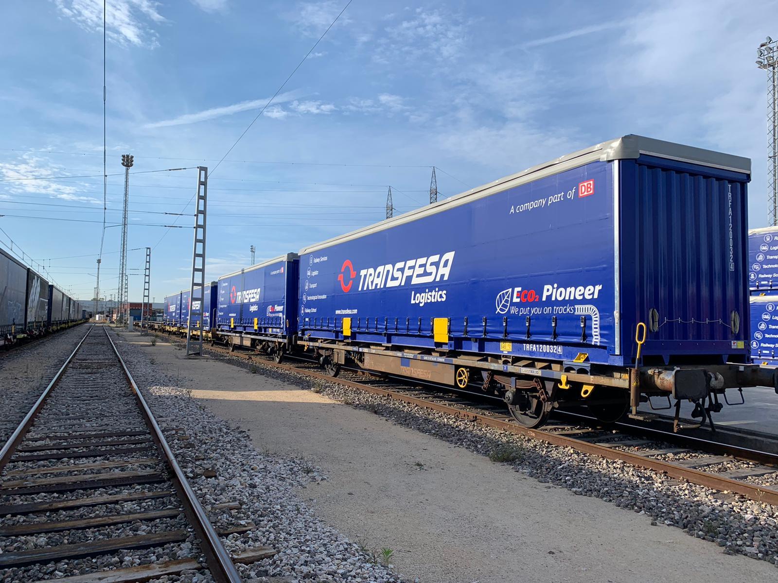 Transfesa Logistics freight container