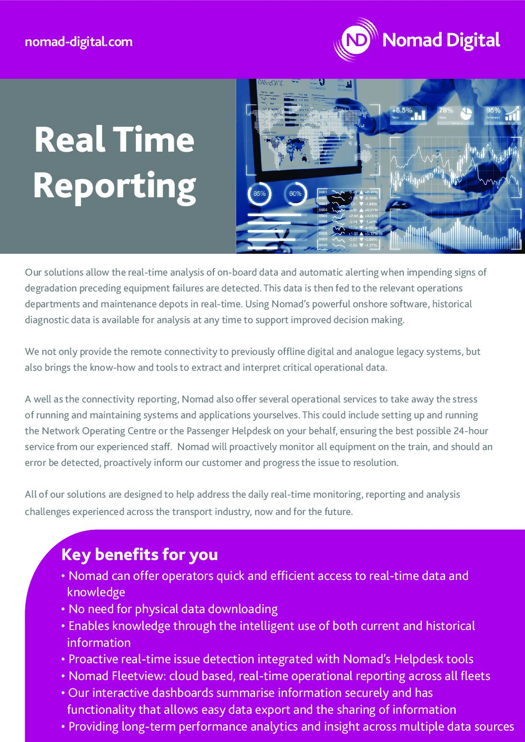 Real Time Reporting and Real Time Management