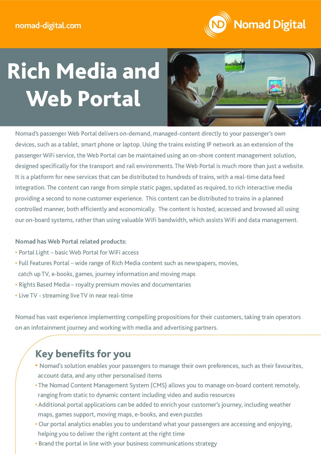 Rich Media, Web Portal & OBIS