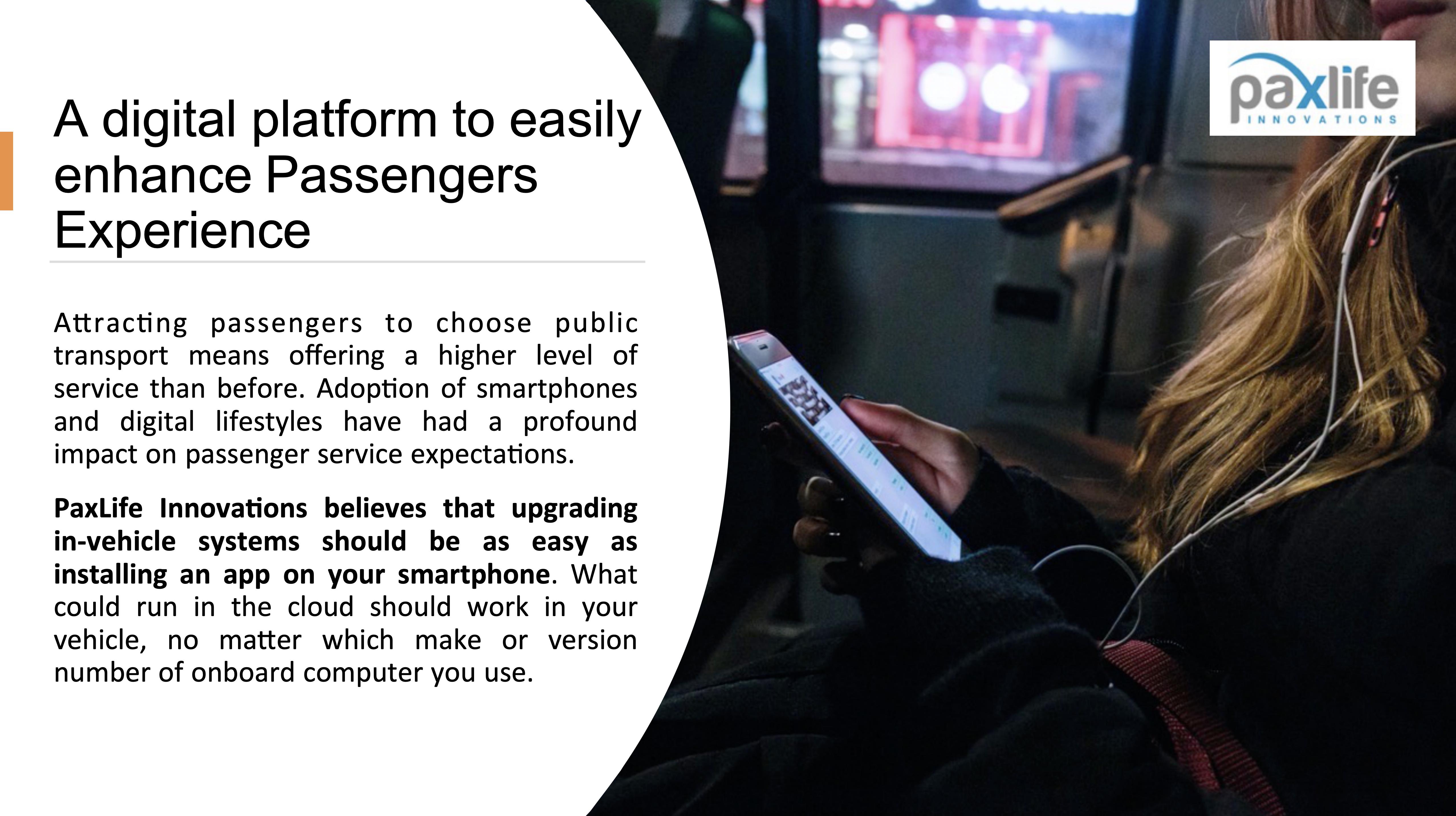 Enhance Passenger Experience