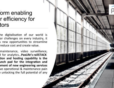 PaxLife Innovations Greater Efficiency for Operators