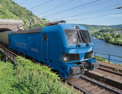 Bulgarian State Railways Orders 10 Siemens Smartron Locomotives