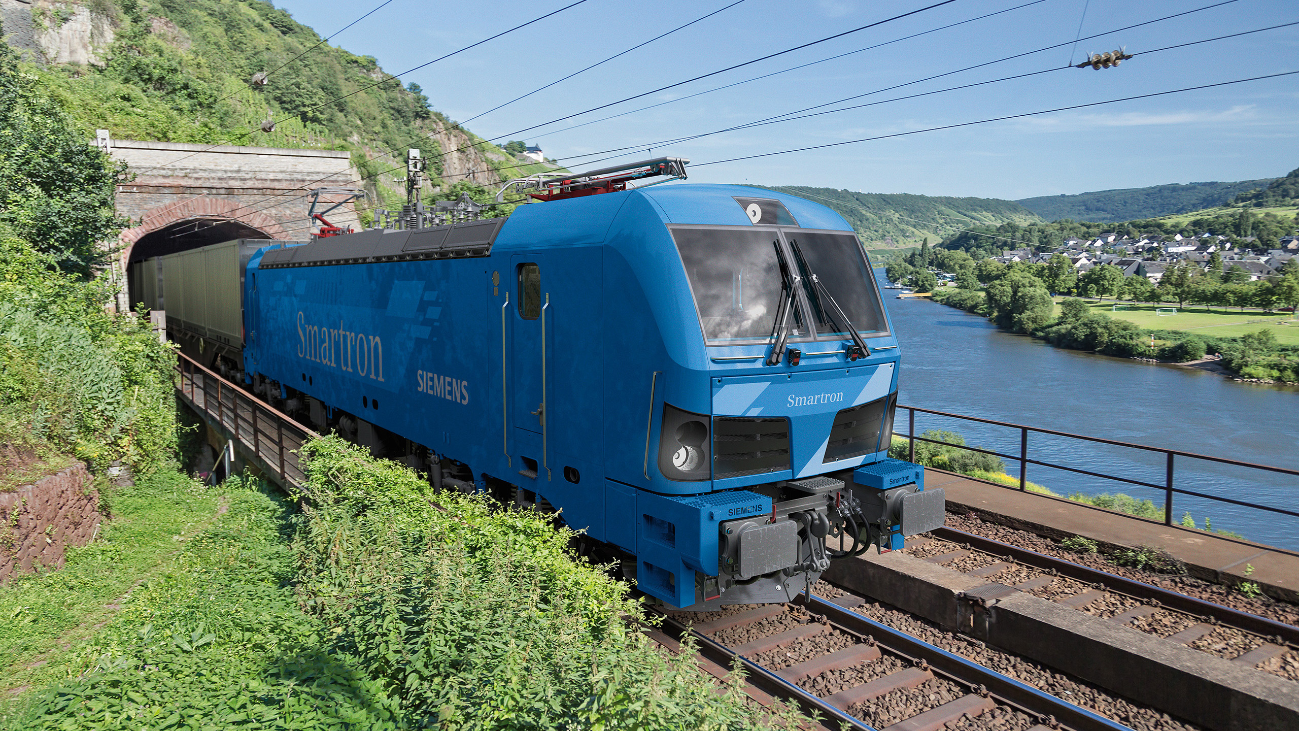 Siemens Smartron 25kV AC locomotive for Bulgaria