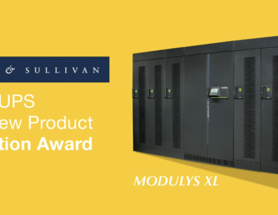 Socomec's Modulys XL Recognised with New Product Innovation Award