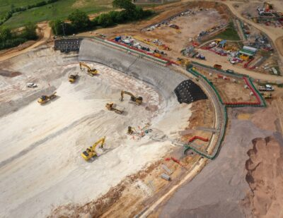 HS2 Reveals First Images of Chiltern Tunnels Launch Site