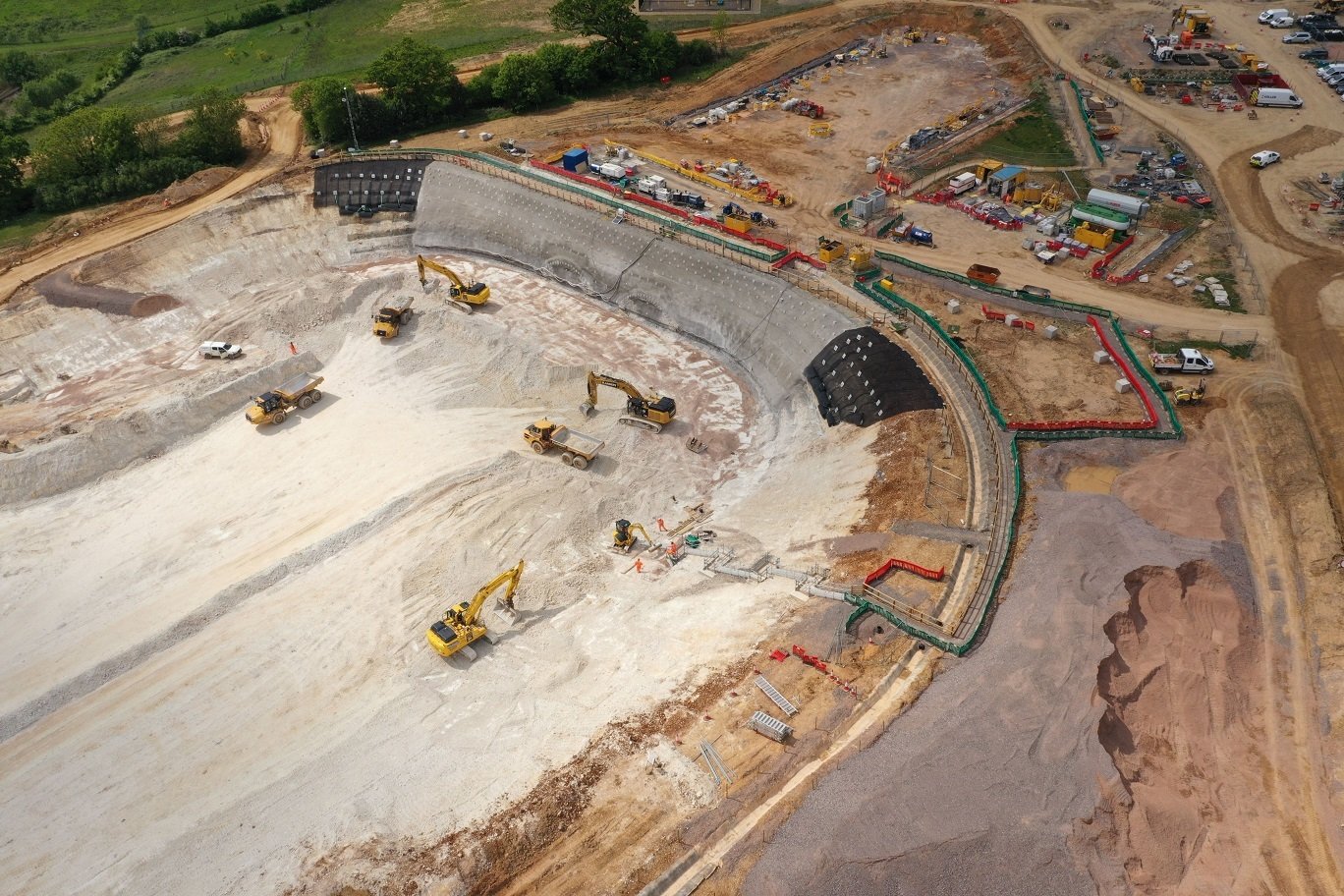 HS2 Chiltern tunnel south portal site
