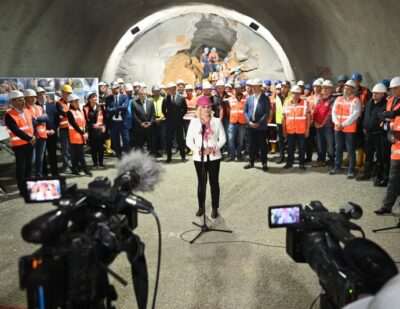 Russian Railways Completes Čortanovci Tunnel Excavation in Serbia