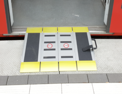 U-Lift TriFold Wheelchair Ramp