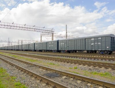 UWC Completes Box Car Supply for Kuchukterminal
