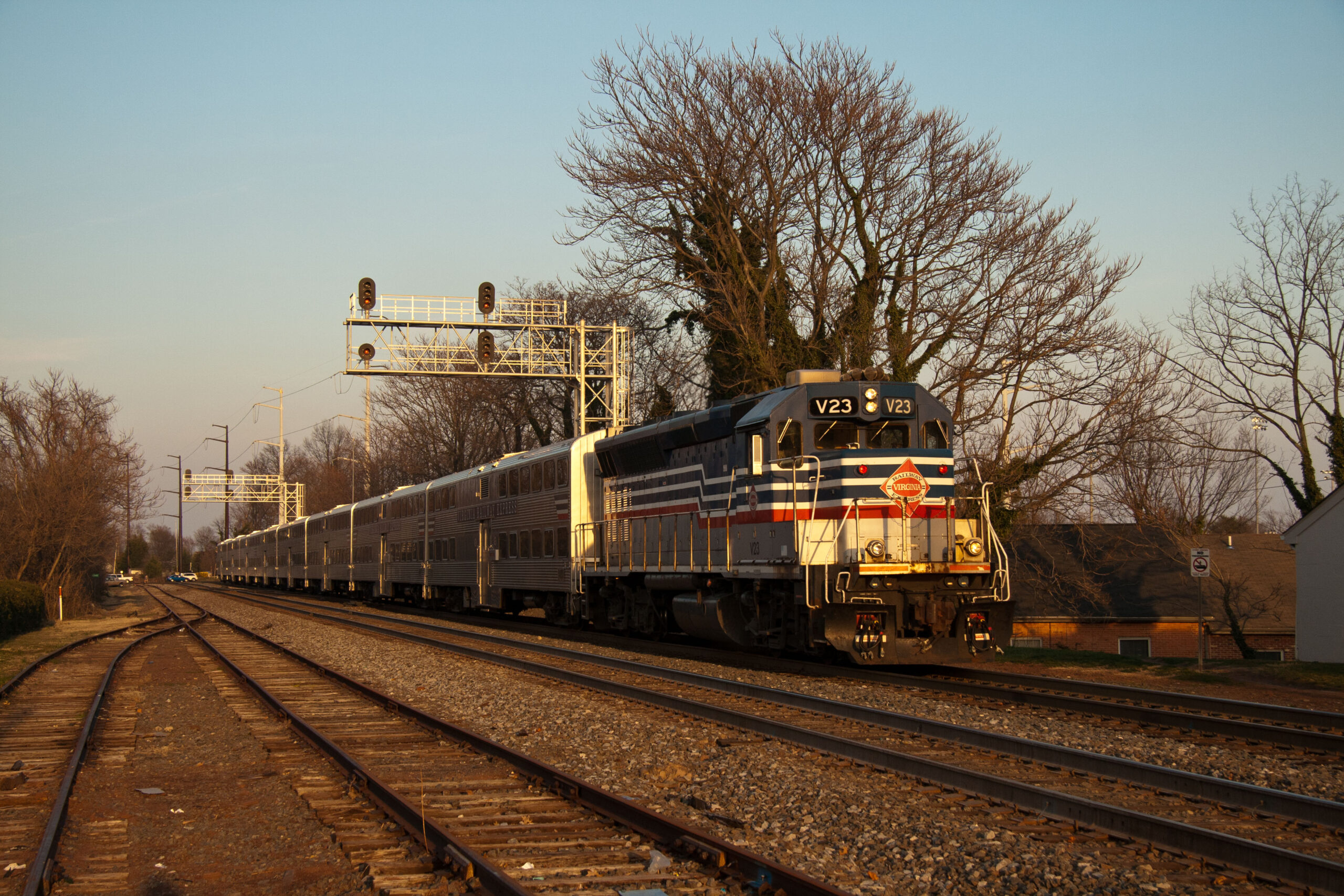 Virginia Rail Express train