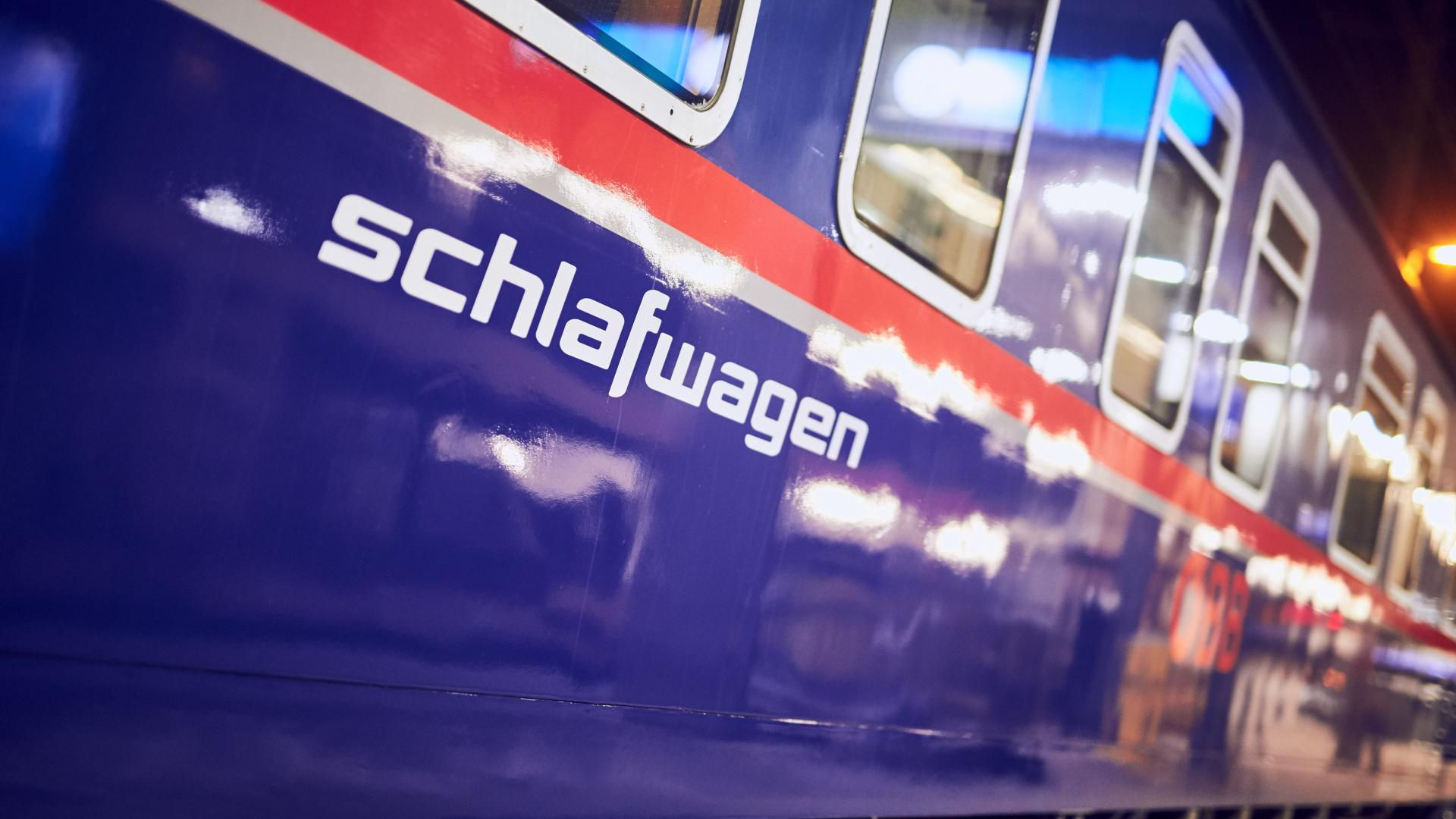 OEBB sleeper train