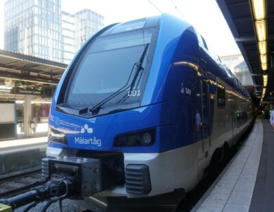 Transitio AB Orders 12 Additional KISS Trains