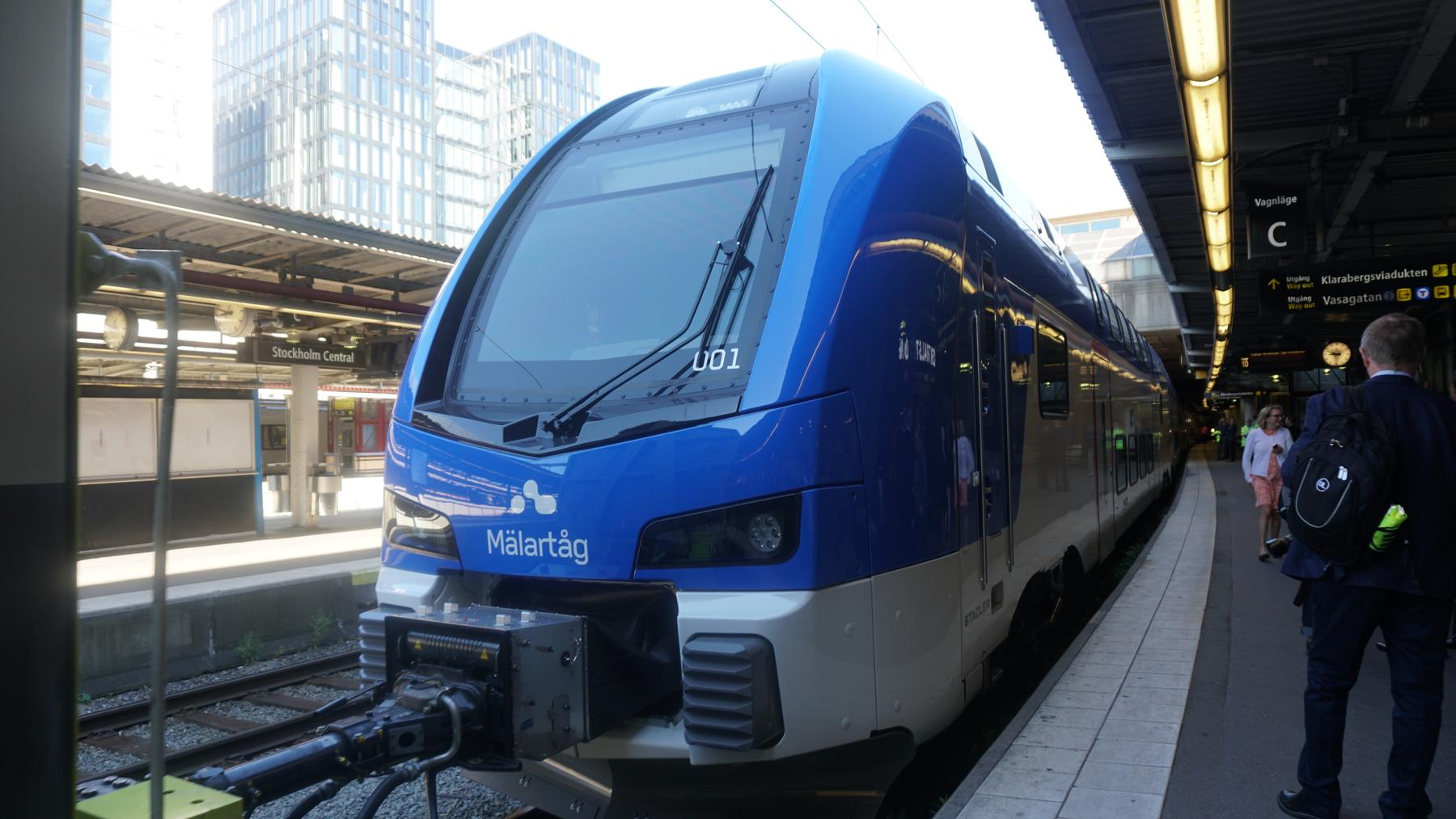 Stadler Kiss for Transitio AB