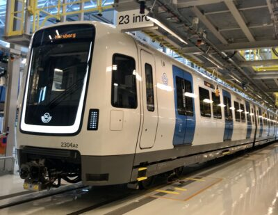 Bombardier Delivers First MOVIA C30 Metros to Stockholm