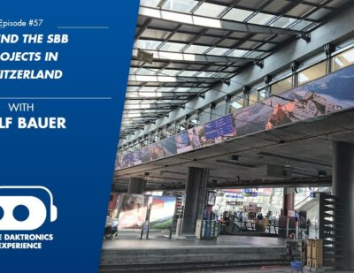 Daktronics Experience Podcast: Behind the SBB Projects in Switzerland