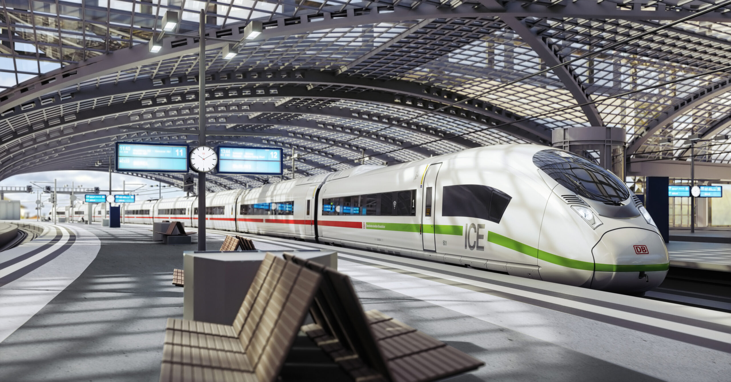 New ICE train for DB to be manufactured by Siemens Mobility