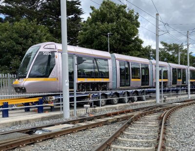 Alstom Delivers 55m Citadis Trams to Dublin