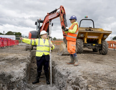 Construction Start for Siemens Mobility Goole Rail Factory