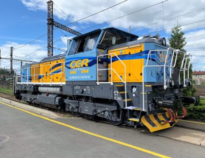 CZ Loko Delivers First EffiShunter 1000M to CER Cargo