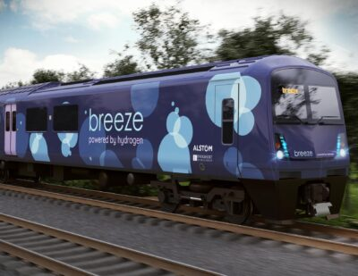 Additional 1m GBP for Breeze Hydrogen Train Programme