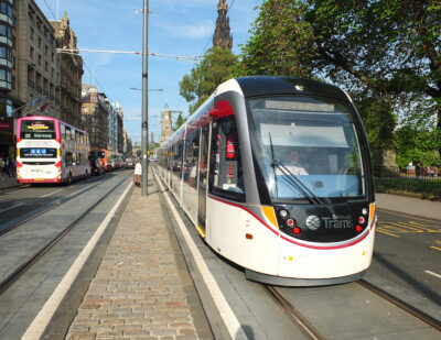 Siemens Mobility Wins Edinburgh Tram Contract