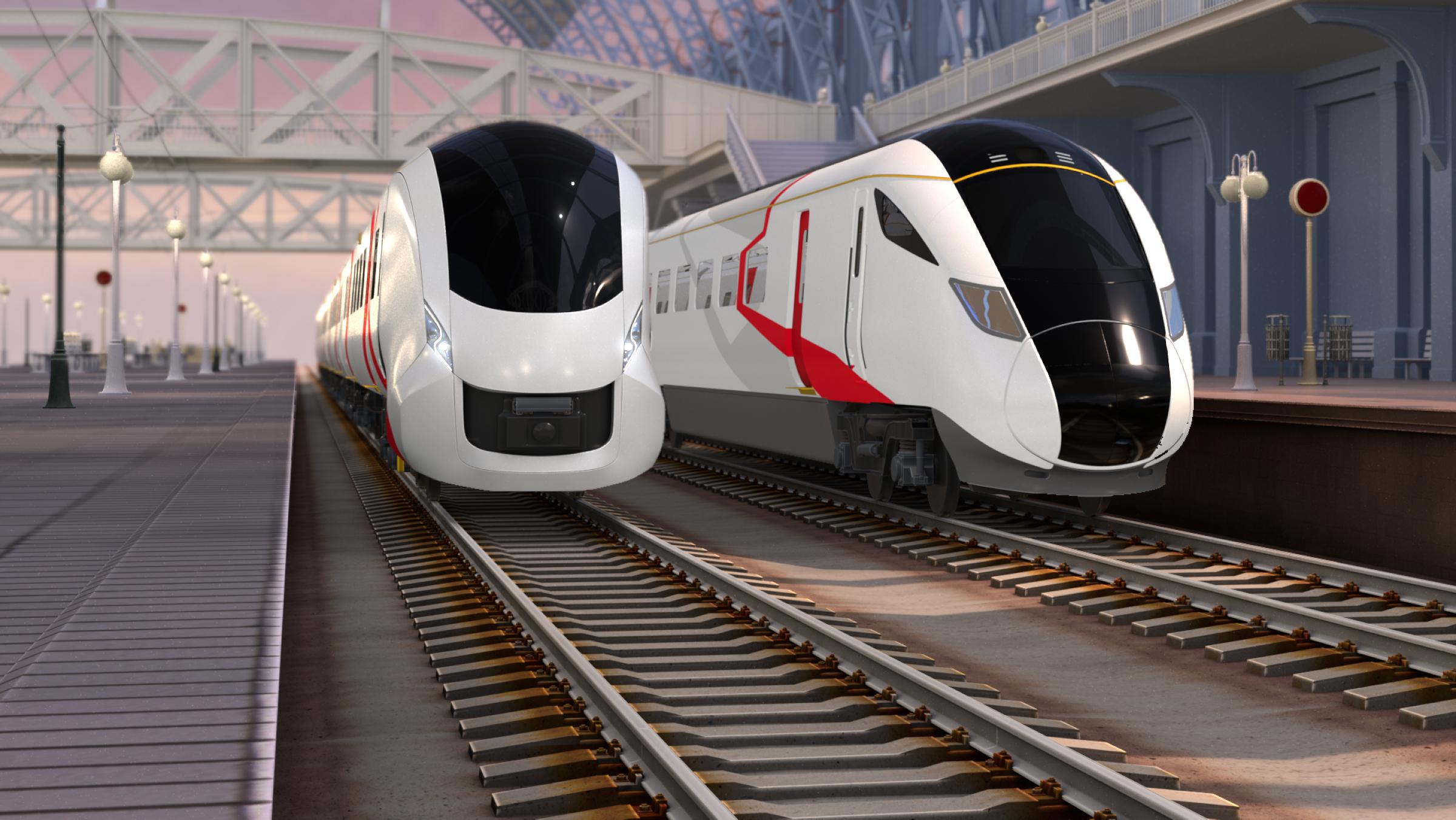 Hitachi Rail Battery train