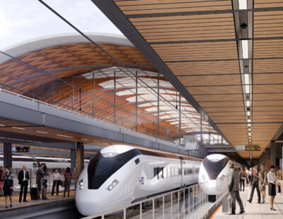 HS2 Launches Search for Birmingham Train Depot & Control Centre Contractor