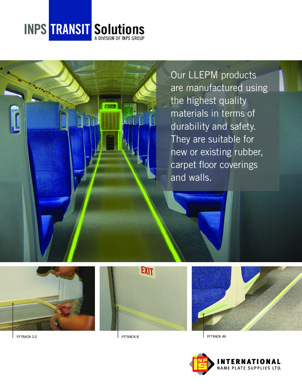 LLEPM (Low-Location Exit Path Markings)