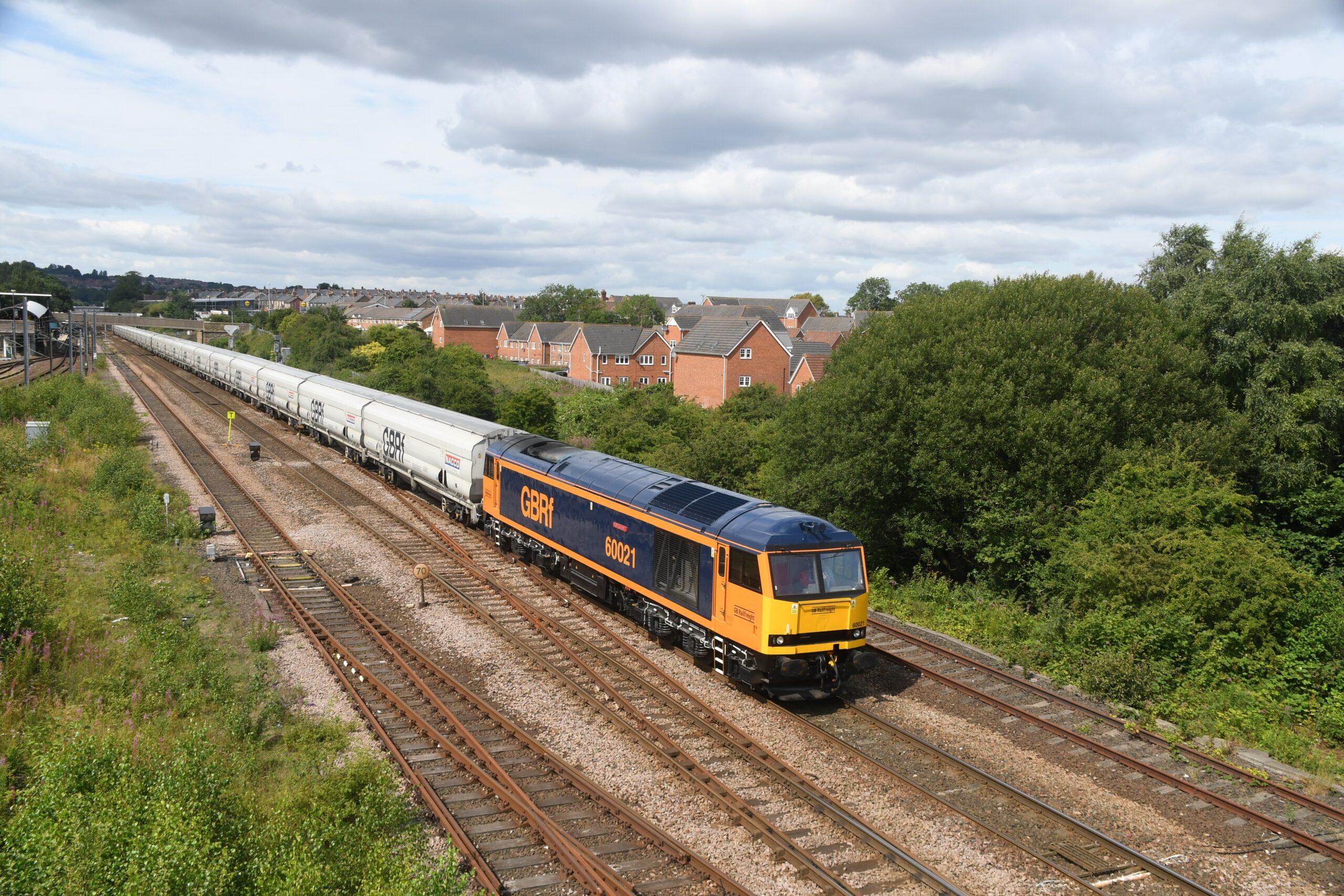 GB Railfreight Class 60 locomotive