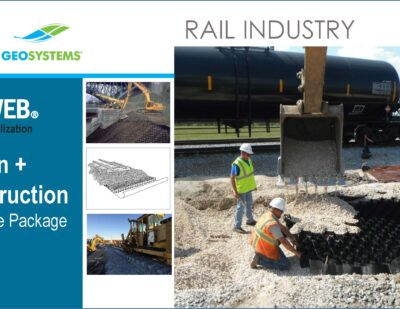 All-in-One Railway Resource: Simplified Guide to Design & Install Using 3D GEOWEB® Geocells