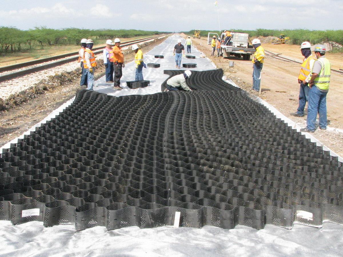 GEOWEB® Track Ballast Reinforcement