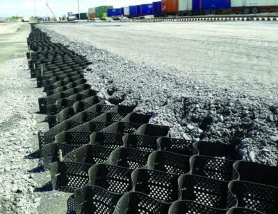 PrestoGeo Pavements at Bulk Material Handling Yards