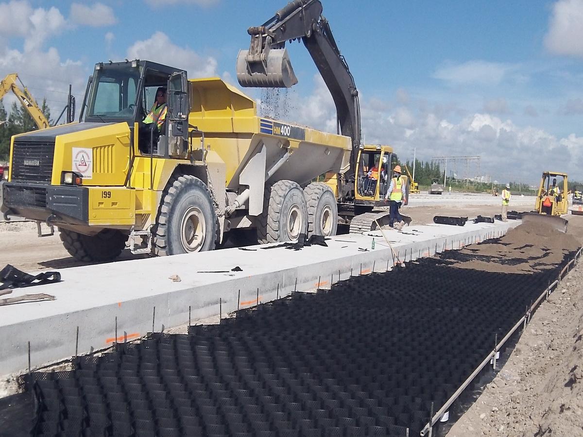 Stabilization of Intermodal Yard