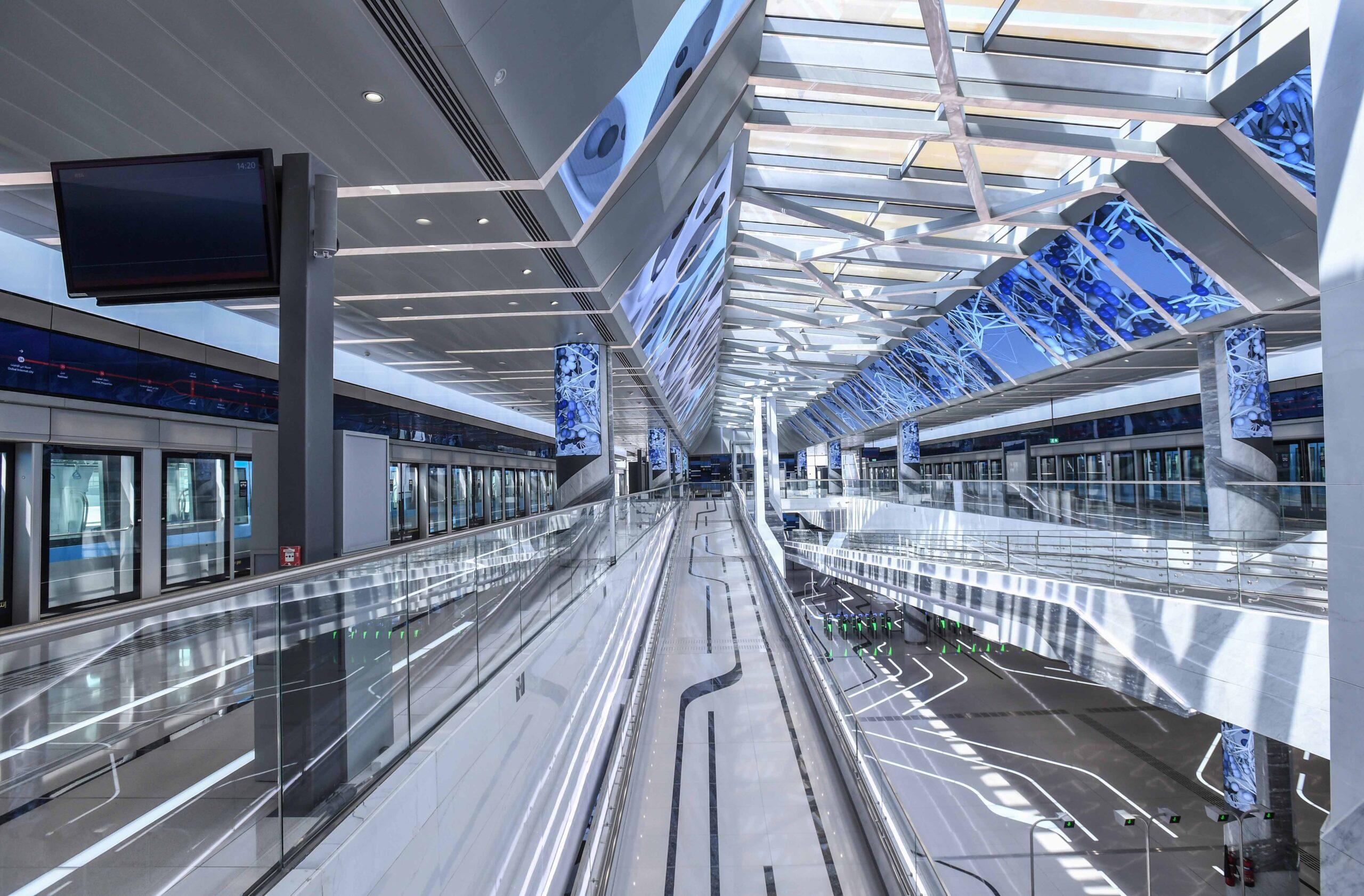 Dubai Metro Route 2020 station